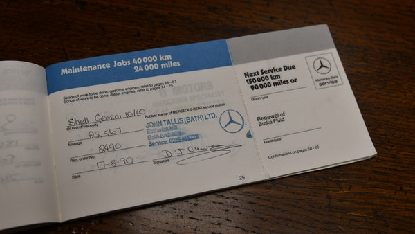 RESERVE REMOVED - 1987 Mercedes-Benz 300 SL For Sale (picture 111 of 136)