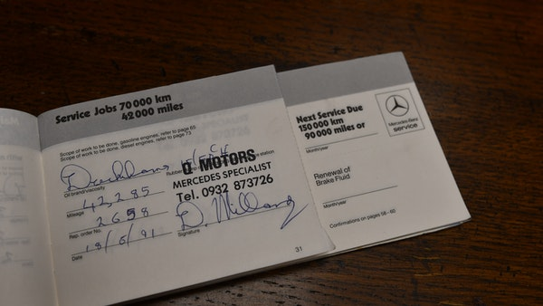 RESERVE REMOVED - 1987 Mercedes-Benz 300 SL For Sale (picture 114 of 136)