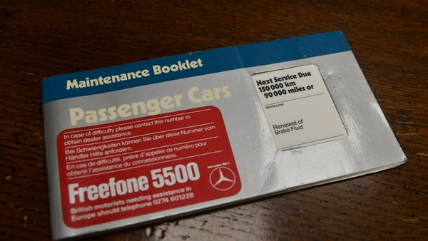 RESERVE REMOVED - 1987 Mercedes-Benz 300 SL For Sale (picture 105 of 136)