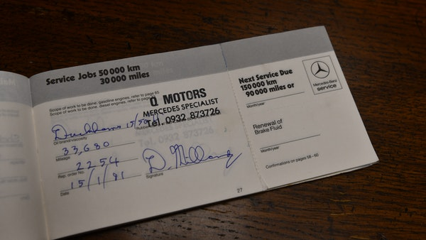 RESERVE REMOVED - 1987 Mercedes-Benz 300 SL For Sale (picture 112 of 136)