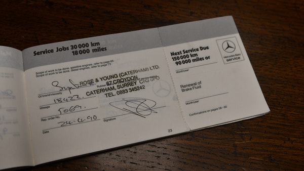 RESERVE REMOVED - 1987 Mercedes-Benz 300 SL For Sale (picture 110 of 136)