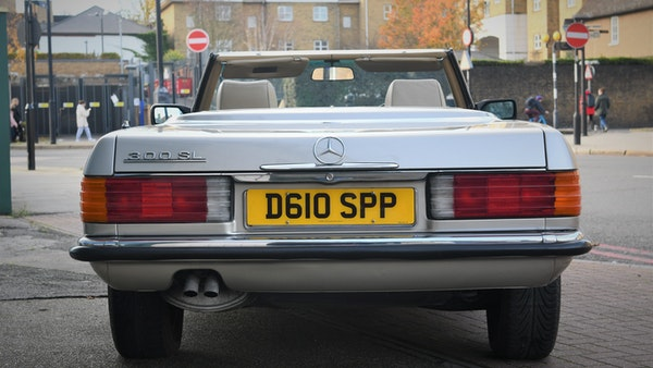 RESERVE REMOVED - 1987 Mercedes-Benz 300 SL For Sale (picture 8 of 136)