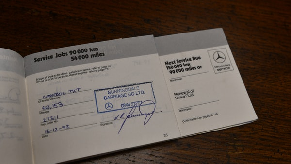 RESERVE REMOVED - 1987 Mercedes-Benz 300 SL For Sale (picture 116 of 136)
