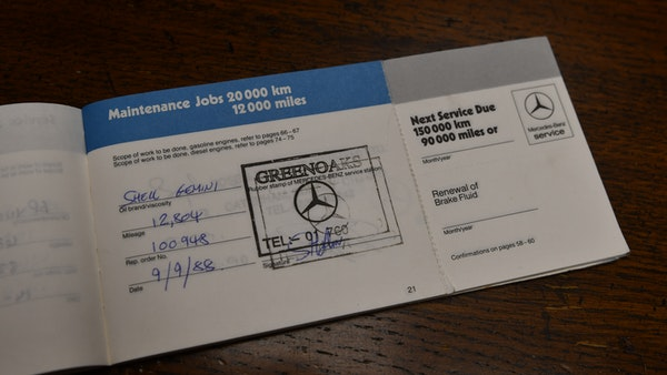 RESERVE REMOVED - 1987 Mercedes-Benz 300 SL For Sale (picture 109 of 136)