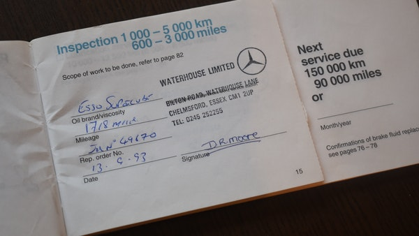 1993 Mercedes-Benz 300SL For Sale (picture 153 of 167)