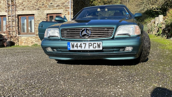 2000 Mercedes-Benz 320 SL Roadster For Sale (picture 12 of 53)