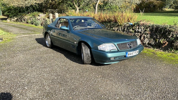 2000 Mercedes-Benz 320 SL Roadster For Sale (picture 8 of 53)