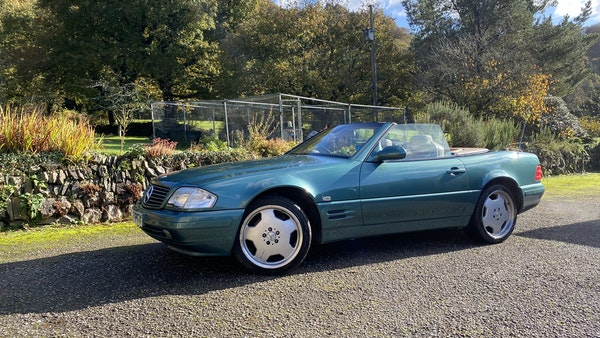 2000 Mercedes-Benz 320 SL Roadster For Sale (picture 15 of 53)