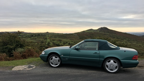 2000 Mercedes-Benz 320 SL Roadster For Sale (picture 17 of 53)