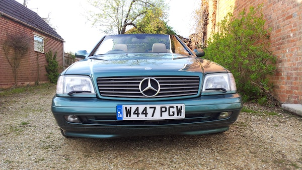 2000 Mercedes-Benz 320 SL Roadster For Sale (picture 5 of 53)