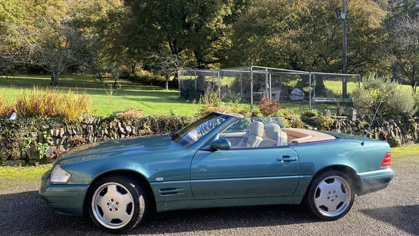2000 Mercedes-Benz 320 SL Roadster For Sale (picture 4 of 53)