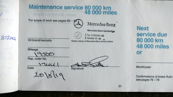 1993 Mercedes-Benz 320CE Convertible For Sale (picture 81 of 88)