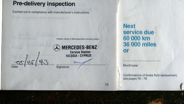 1993 Mercedes-Benz 320CE Convertible For Sale (picture 72 of 88)