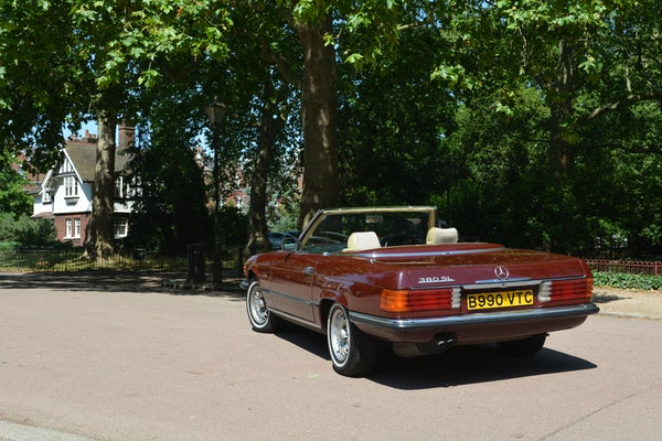 1984 Mercedes-Benz 380 SL For Sale (picture 20 of 159)