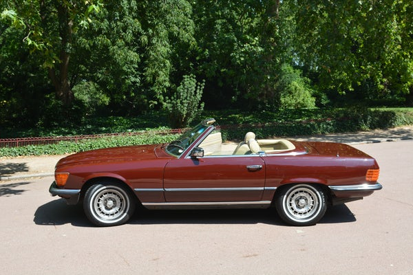 1984 Mercedes-Benz 380 SL For Sale (picture 28 of 159)