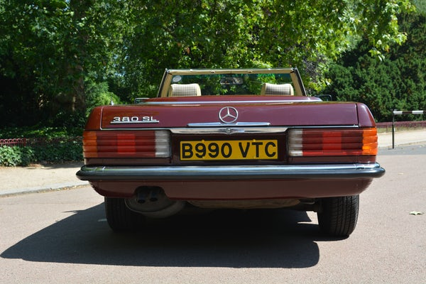 1984 Mercedes-Benz 380 SL For Sale (picture 45 of 159)