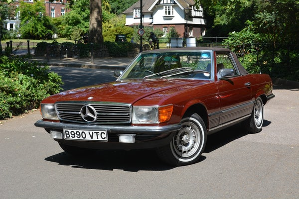 1984 Mercedes-Benz 380 SL For Sale (picture 48 of 159)
