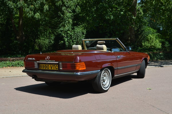 1984 Mercedes-Benz 380 SL For Sale (picture 42 of 159)
