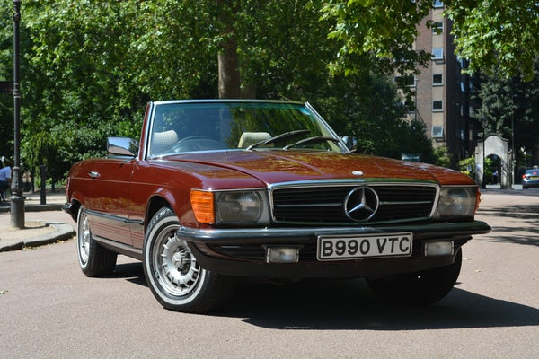 1984 Mercedes-Benz 380 SL For Sale (picture 37 of 159)