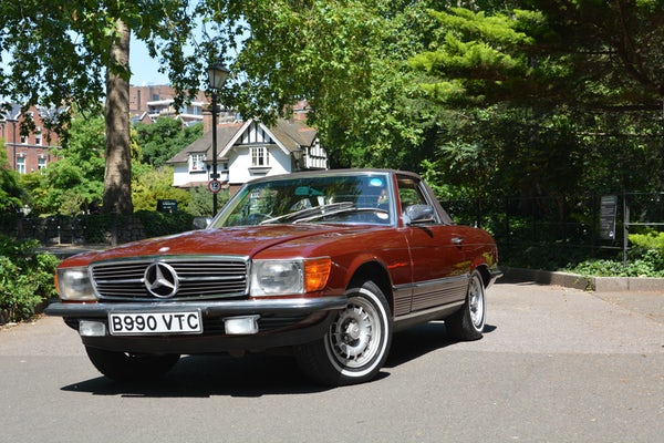 1984 Mercedes-Benz 380 SL For Sale (picture 49 of 159)
