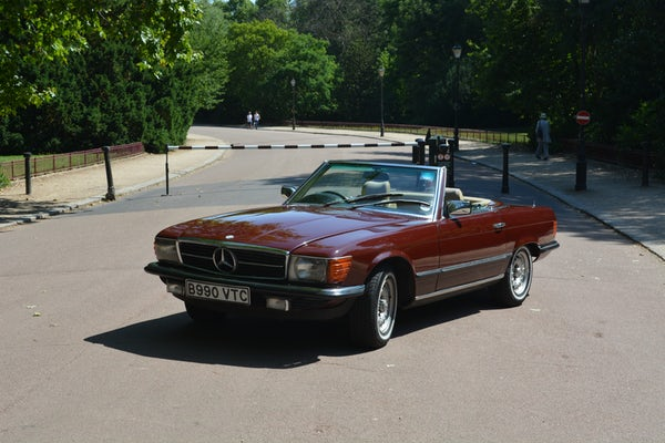 1984 Mercedes-Benz 380 SL For Sale (picture 13 of 159)