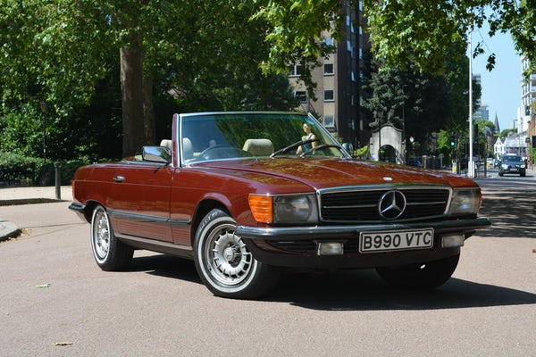 1984 Mercedes-Benz 380 SL For Sale (picture 34 of 159)