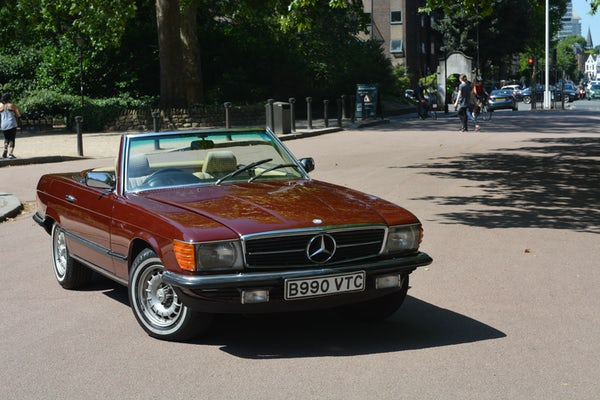 1984 Mercedes-Benz 380 SL For Sale (picture 38 of 159)