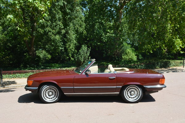 1984 Mercedes-Benz 380 SL For Sale (picture 27 of 159)