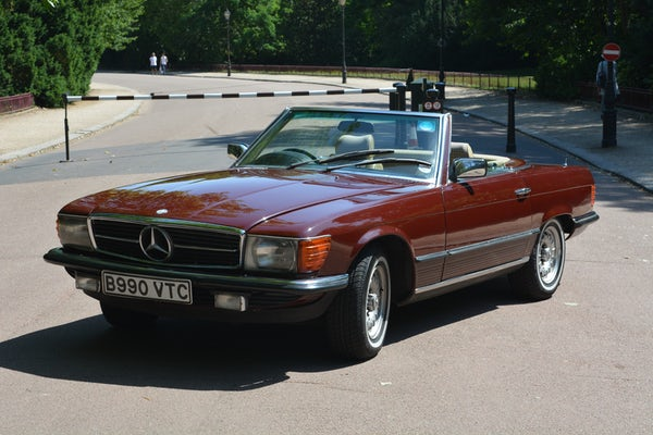 1984 Mercedes-Benz 380 SL For Sale (picture 12 of 159)