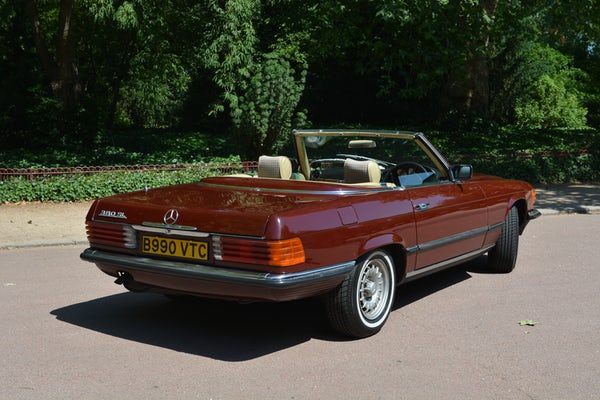 1984 Mercedes-Benz 380 SL For Sale (picture 43 of 159)