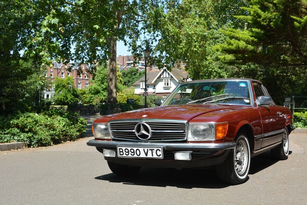 1984 Mercedes-Benz 380 SL For Sale (picture 58 of 159)