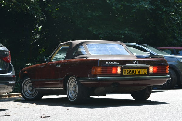1984 Mercedes-Benz 380 SL For Sale (picture 53 of 159)