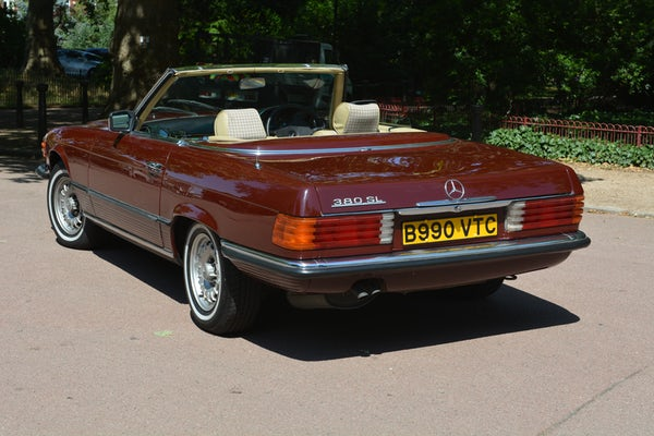 1984 Mercedes-Benz 380 SL For Sale (picture 19 of 159)