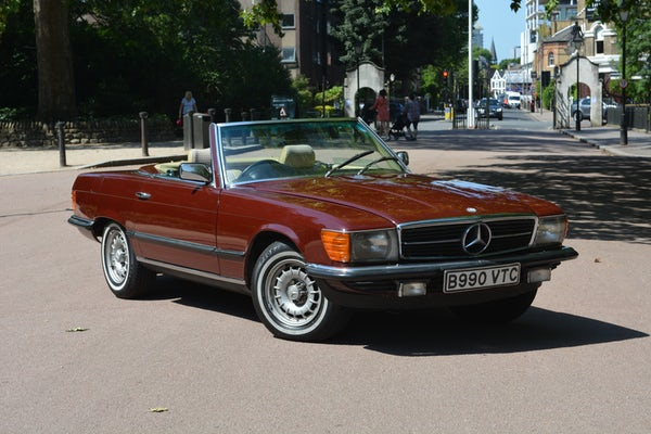 1984 Mercedes-Benz 380 SL For Sale (picture 33 of 159)