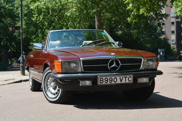 1984 Mercedes-Benz 380 SL For Sale (picture 36 of 159)