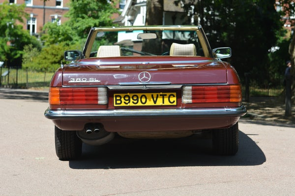 1984 Mercedes-Benz 380 SL For Sale (picture 22 of 159)
