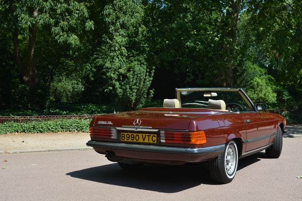 1984 Mercedes-Benz 380 SL For Sale (picture 44 of 159)