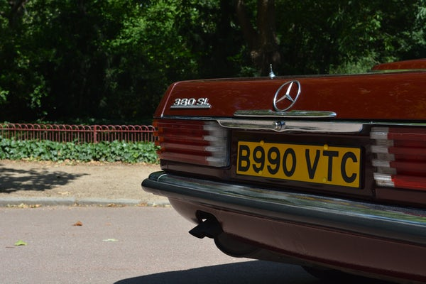 1984 Mercedes-Benz 380 SL For Sale (picture 41 of 159)