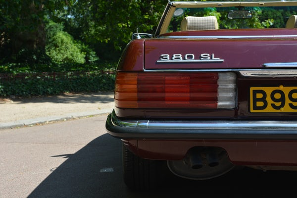 1984 Mercedes-Benz 380 SL For Sale (picture 122 of 159)