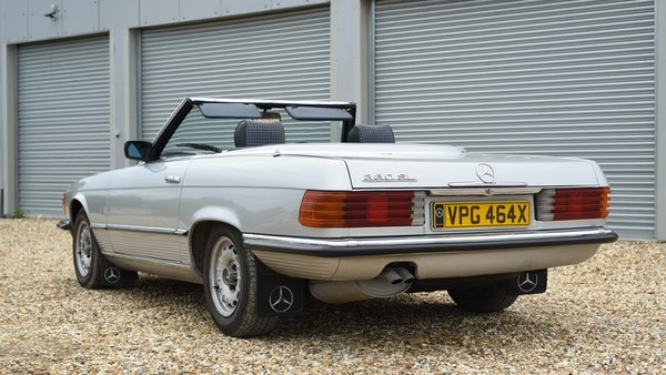 RESERVE LOWERED - 1981 Mercedes-Benz 380 SL For Sale (picture 16 of 99)