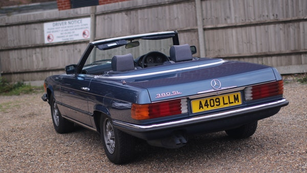 1984 Mercedes 380SL For Sale (picture 11 of 190)