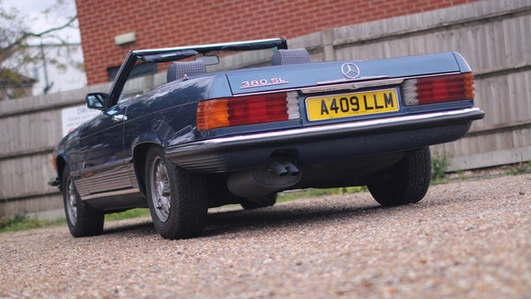 1984 Mercedes 380SL For Sale (picture 7 of 190)