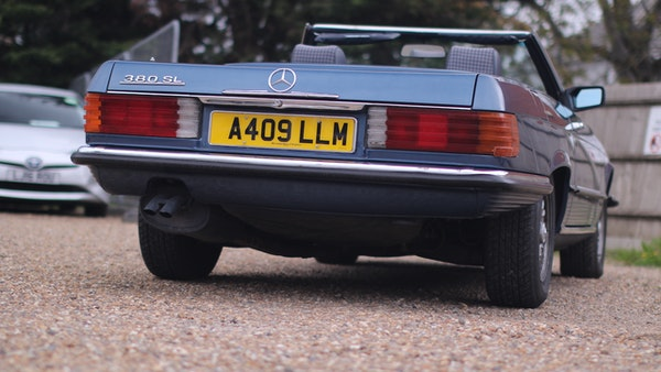 1984 Mercedes 380SL For Sale (picture 10 of 190)