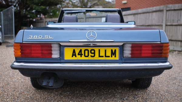 1984 Mercedes 380SL For Sale (picture 19 of 190)