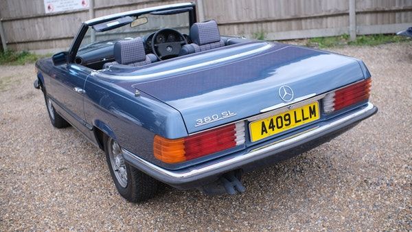 1984 Mercedes 380SL For Sale (picture 6 of 190)