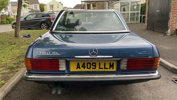 1984 Mercedes 380SL For Sale (picture 35 of 190)