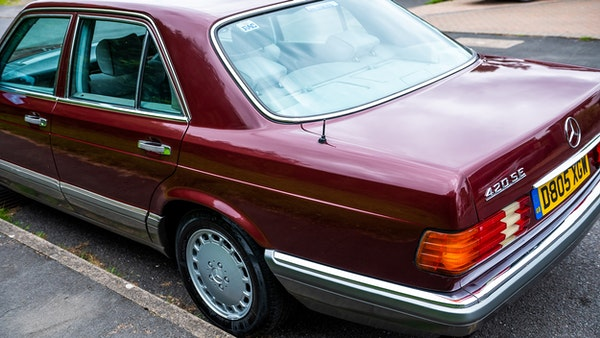 1987 Mercedes-Benz 420 SE For Sale (picture 75 of 155)