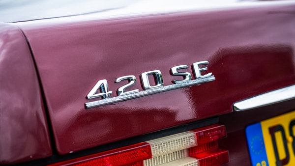 1987 Mercedes-Benz 420 SE For Sale (picture 76 of 155)