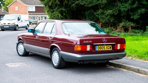 1987 Mercedes-Benz 420 SE For Sale (picture 9 of 155)