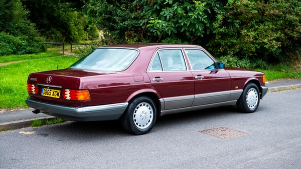 1987 Mercedes-Benz 420 SE For Sale (picture 12 of 155)